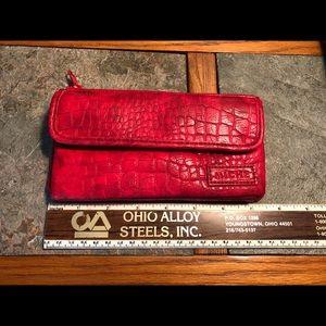 Miche Red Croc Wallet